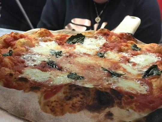 Pizzas from Fatto Americano.