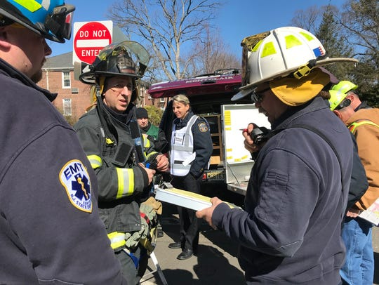 Montclair first responders talk about their evacuation
