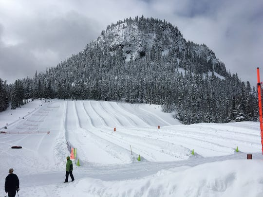 The Autobahn Tubing Park at Hoodoo Ski Area is geared toward kids.