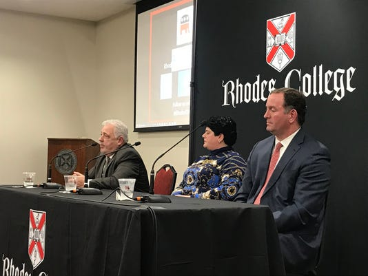 Shelby County GOP mayoral candidates talk development