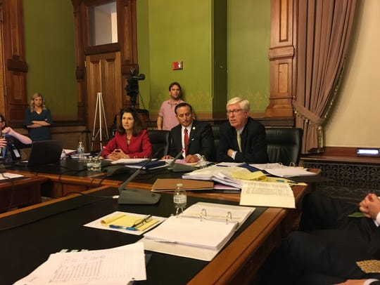 The Iowa State Objection Panel met on Tuesday, March 27, 2018.