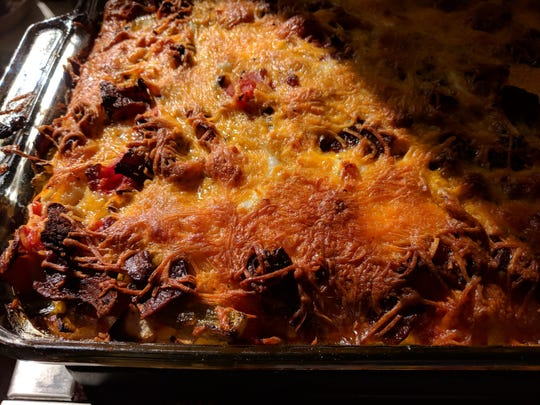 This Easter Egg Casserole is perfect for an Easter