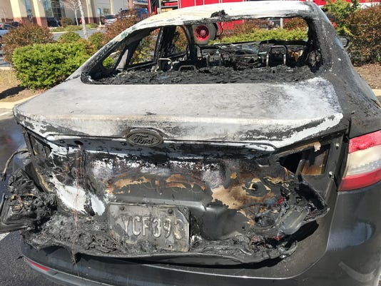 Rock Chip Repair Sparks Fire Destroys Two Cars