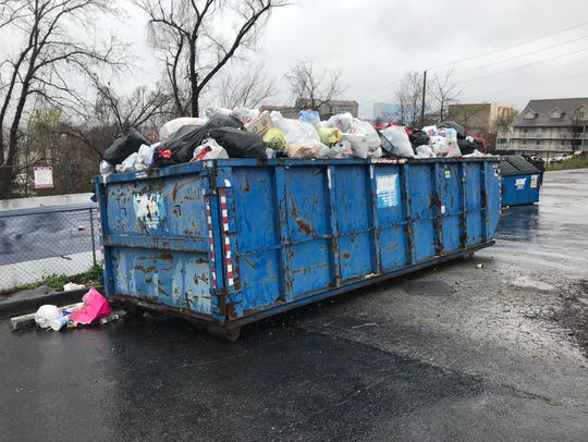 Guests of the 76 Inn told the News-Leader that trash