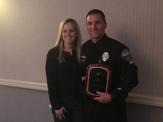 Schuck named Officer of the Year
