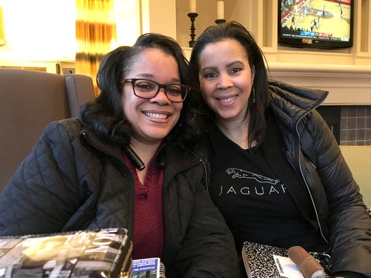 Nicole England of Southfield and Kim Phillips-Wood of Macomb Township are cousins who attended a class in  February 2018 put on by HempStaff, a Florida company and provides classes around the country for people who want to get into medical marijuana business. The women are hoping to become processors in Michigan's market, making marijuana-infused products to sell to dispensaries.