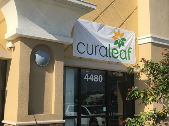 Curaleaf has opened Fort Myers' first medical cannabis dispensary at Colonial Boulevard and Fowler Street.
