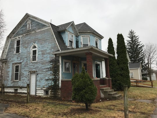 This once-abandoned house at 405 Tiffin St. is among