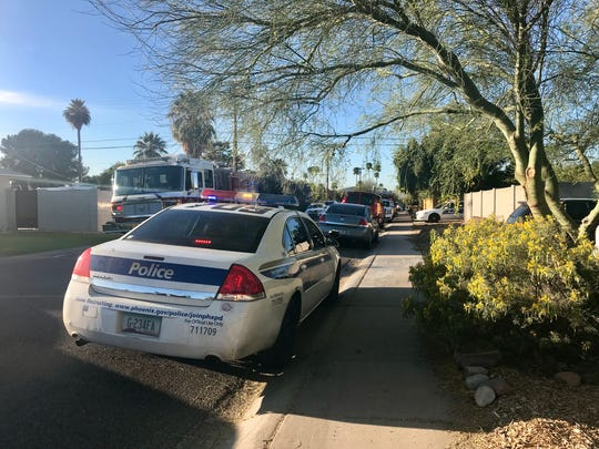 Police responded to an arson call near 24th Street and Osborn Road which ended in the suspect being shot.