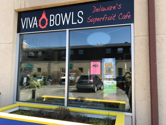 Viva Bowls: Delaware's Superfruit Cafe in Market East Plaza at 280 E. Main St. in Newark has been opened since November.