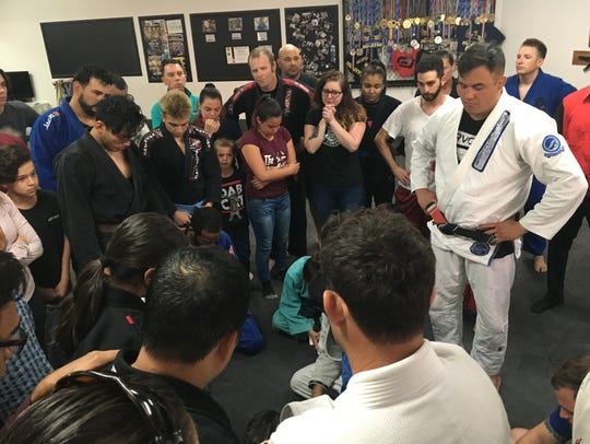 Friends of Ramon Diaz gather at Palm Springs Jiu-Jitsu