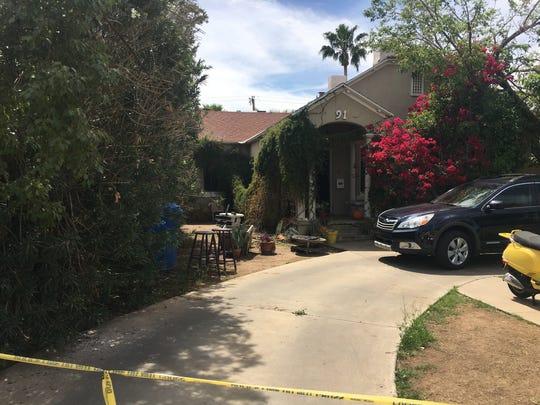 Phoenix police investigate a homicide near the 100