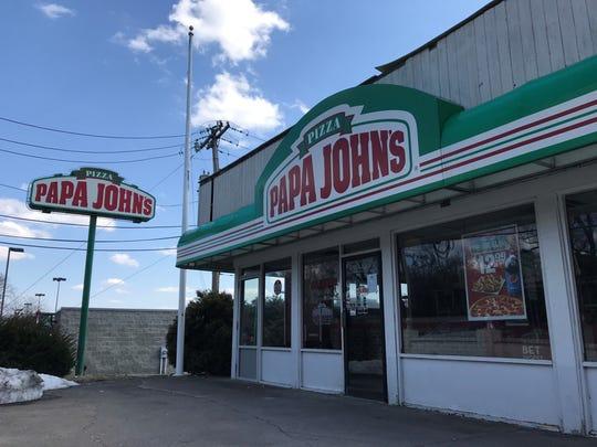 Papa John's Pizza on Fairport Road.
