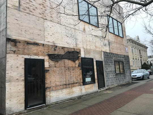 Michael Melham's building at  170 Washington Ave., next to Belleville Town Hall, on Wednesday, March 4, 2018.