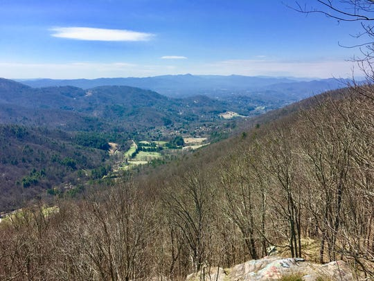 Nature's open table: Beaverdam Valley from Elk Mountain