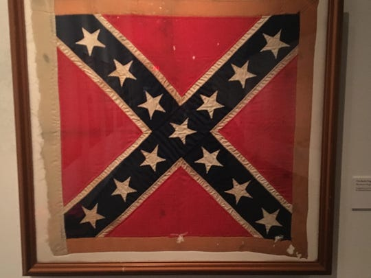 Battle Flag of the Army of Nothern Virgina, commonly known as the Confederate Flag.