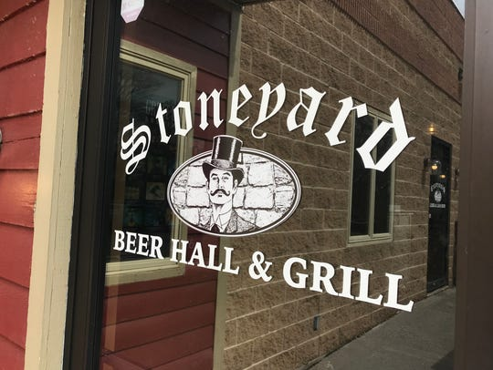 Stoneyard Beer Hall & Grill in Penfield.