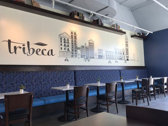 Tribeca Gallery Cafe & Books, 1318 S. 1st St., is in retail space below apartments at Freshwater Plaza in Walker's Point.