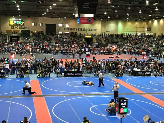 The Flo Reno World of Wrestling tournament was held