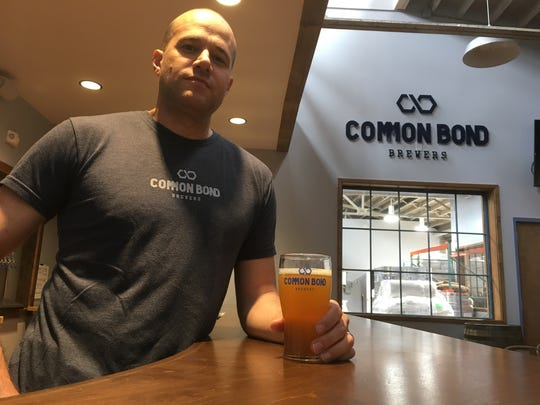 Common Bond Brewers and brewmaster Andrew McNally have worked to adapt to production and food service changes.