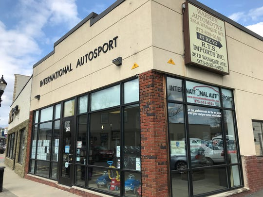 International Autosport, a used car dealership on Wanaque