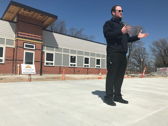 Sun Solar CEO Caleb Arthur announced Tuesday that he will donate a solar panel to Eden Village on behalf of every homeowner and business owner who goes solar. Eden Village is a planned community of tiny homes for homeless people located in north Springfield.