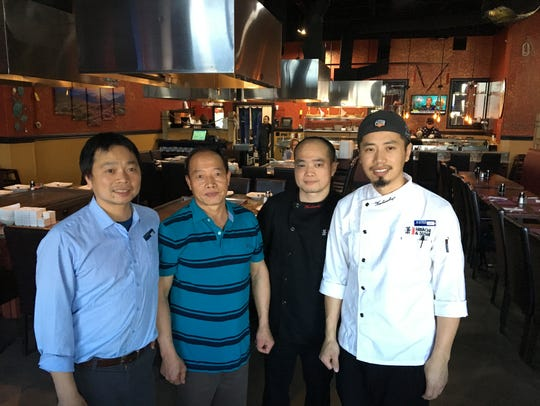 Family members at the helm of Xiaos' Hibachi and Sushi