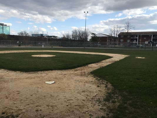 Ridgefield Park Little League field