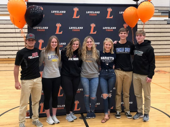Loveland High School Seniors who participated in the