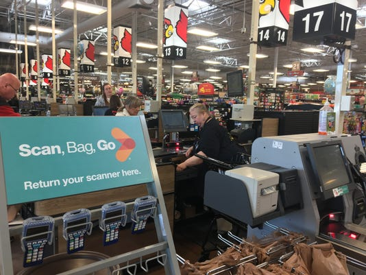 Louisville Kroger's new Scan, Bag, Go system cuts out checkout line