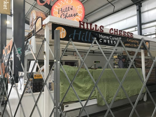 Hills' closed