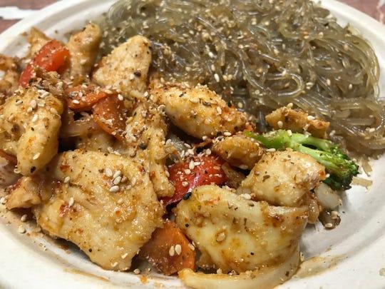Flavor of Seoul's Chili Chicken (mild spicy)