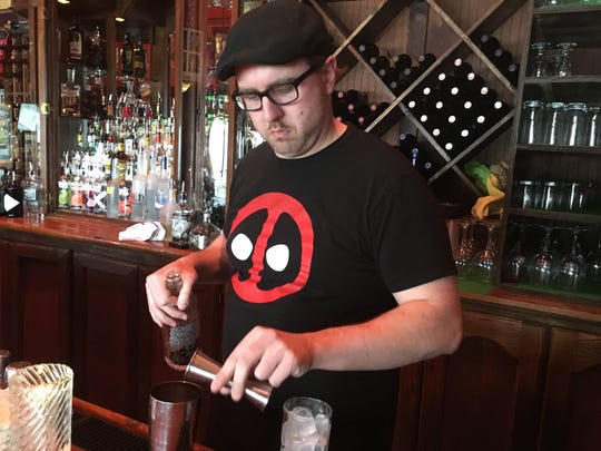 Delaney Twining makes both traditional and non-traditional cocktails his own by improving or sometimes outright changing the ingredients.