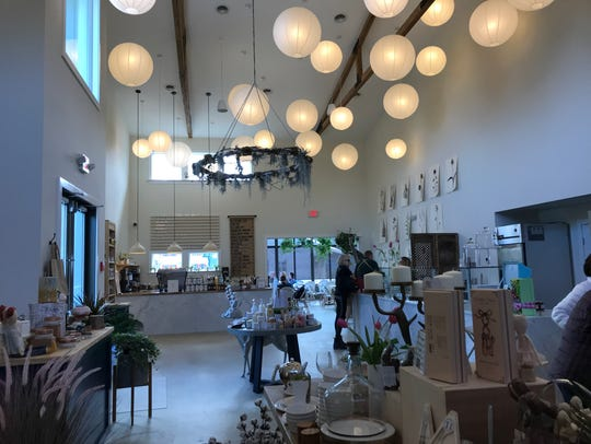 The Station on Kings is a new garden center/bakery/cafe/market