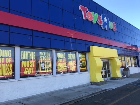 The Toys R Us store on Route 4 in Paramus.