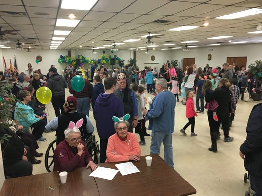 The Kalurah Shrine in Endicott held its annual Easter Party on March 31 at the Shrine Center in Endicott.