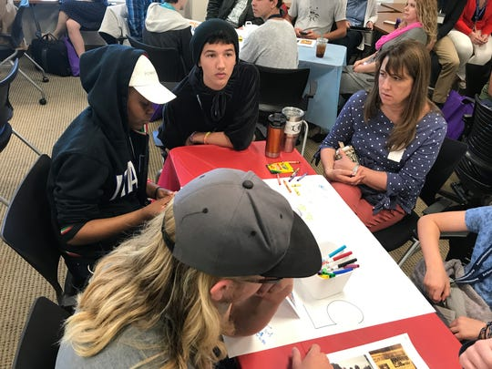Students collaborate on solutions to the opioid epidemic plaguing WNC.