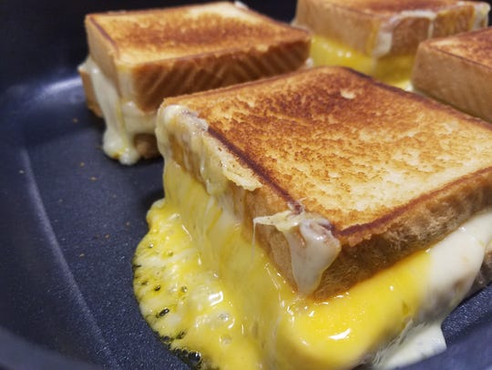 A grilled cheese sandwich is featured each year at