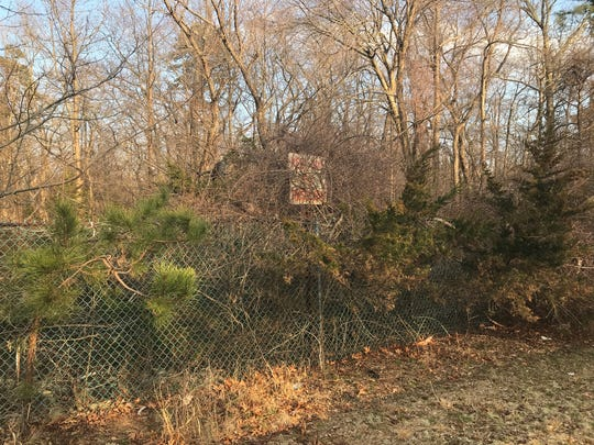 "A ""Keep Out - No Tresspassing"" sign warns the public not to enter the woods today. While it may not look like much now, this is where Ocean County plans to develop its next county park."