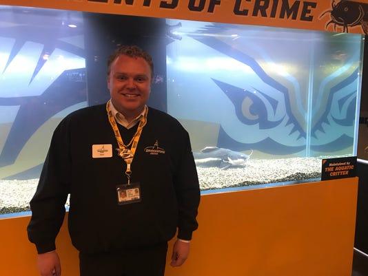 Predators' catfish official keeper