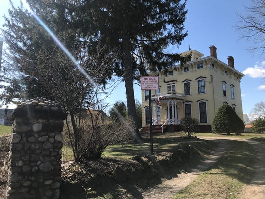 The Tyson House in Rochelle Park in April 2018.