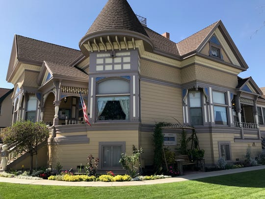 Author John Steinbeck was born and raised in this home in Salinas, California, which now offers tours and a restaurant.