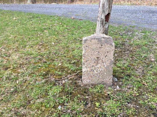 Gravestone No. 1, belonging to Martino Zambetto (died
