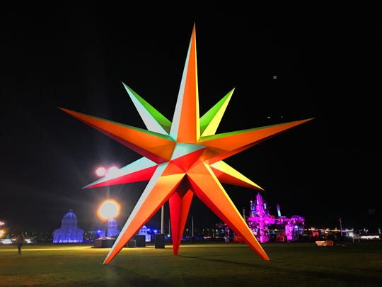 Supernova by Roberto Behar and Rosario Marquardt of R&R Studios at Coachella 2018