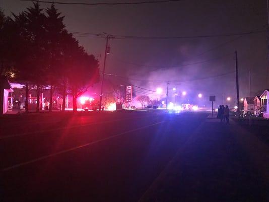 Lakehurst Fire