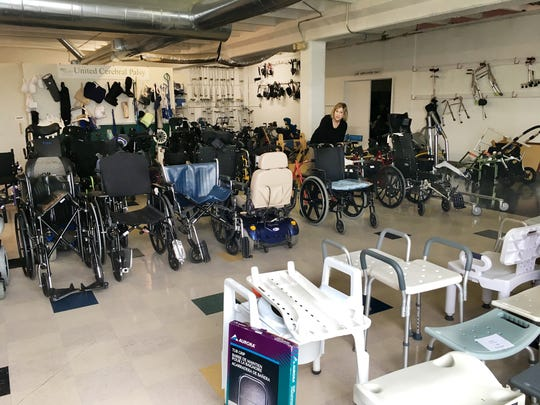 The United Cerebral Palsy Equipment Exchange accepts