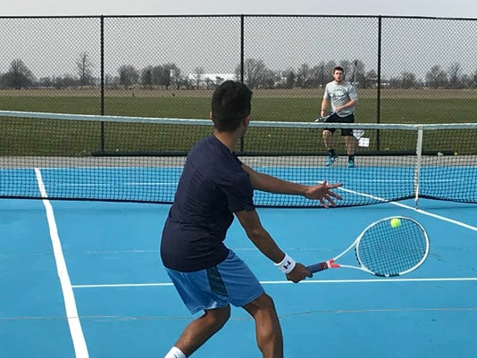 River Valley tennis Patrick Ravi