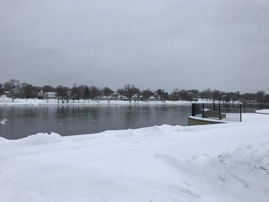 Officials continue to monitor Wisconsin River water levels in the wake of a blizzard that blew through central and northeastern Wisconsin April 13-15.