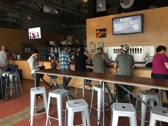 Alliance Brewing Company is just a short drive from downtown Knoxville.