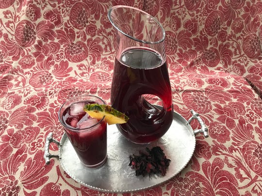 Irie Zulu's Summertime Drink combines hibiscus with